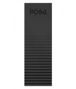 Каучуковый коврик для йоги с покрытием Non-slip POSA NonSlipPro 183*61*0,35 - Up! Black