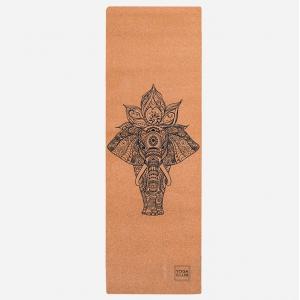 Коврик для йоги Elefant YC из пробки и каучука