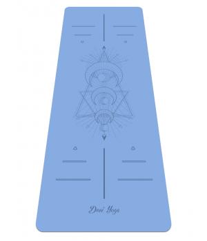 Каучуковый коврик для йоги с покрытием Non-Slip Devi Yoga 185*68*0,4 - Young Moon